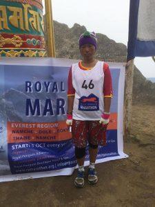 Purni Maya Rai from Nepal